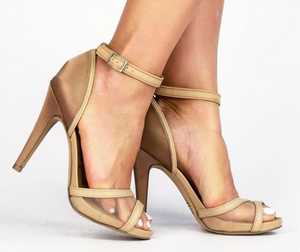 Ammer Nude High Heels T1703