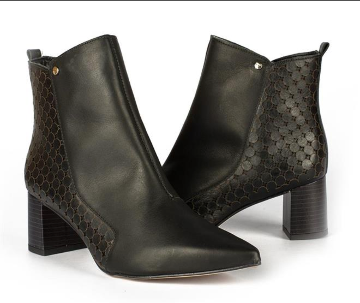 Grace Black Ankle Bootie