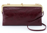 Lina Deep Plum Clutch