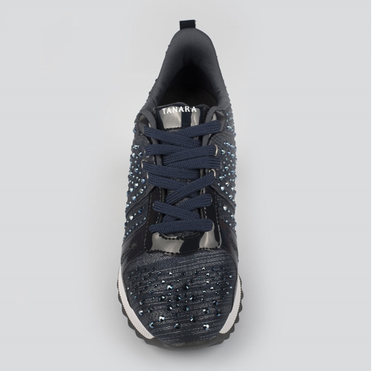 Nellie Blue Studded Sneaker