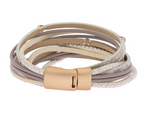 Segovia Leather Wrap Bracelet