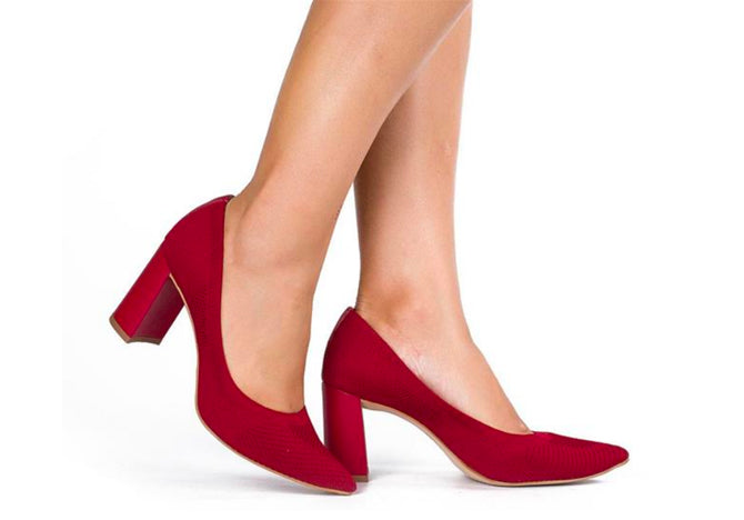 Malha Red Pumps T2406
