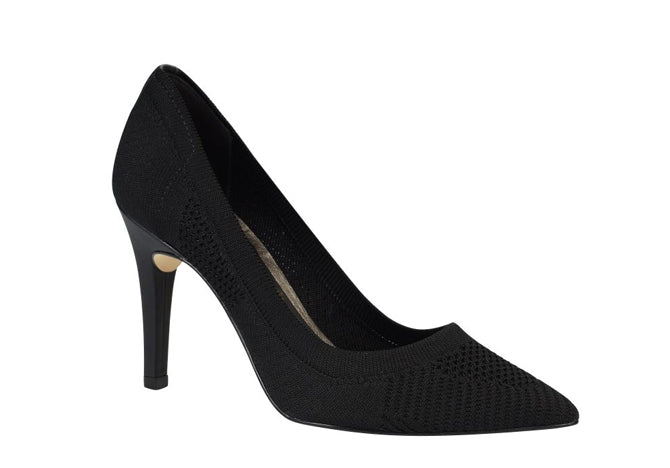 Black Pointy  Mesh Pumps | Stiletto Heel | Brazilian Made |Free Shipping