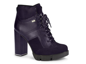 Gill Navy Lace Up Boot