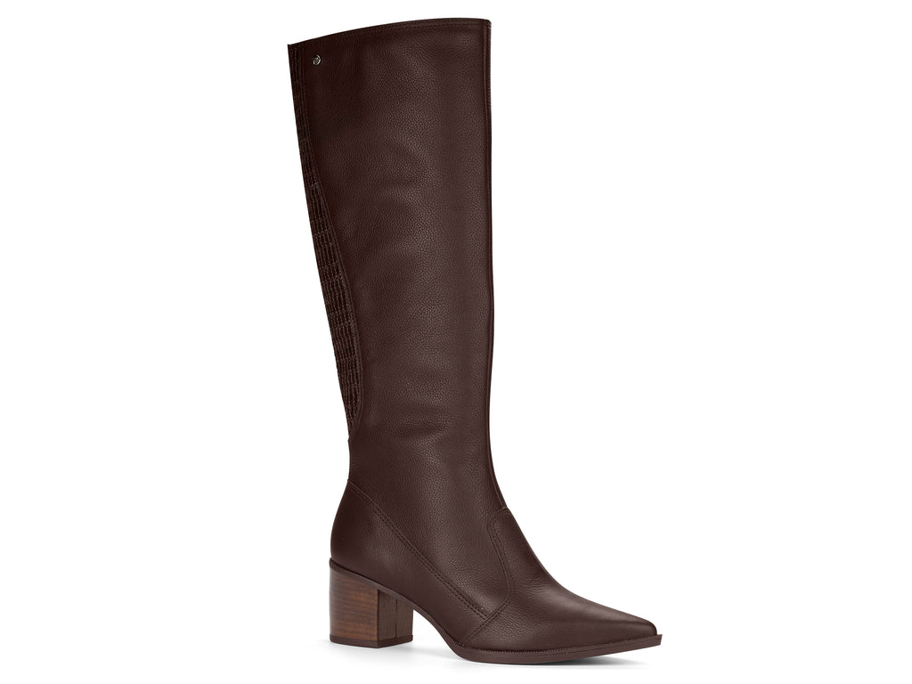 Dark Brown Leather Boot | Women's Riding Boot