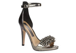 Moulin Silver beaded Stilettos  T1706