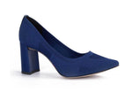 Knit Classic Blue Pumps T2406