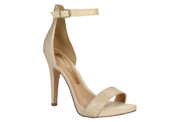 Port Sand Beige High Heels T1705