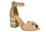 Leather Tan sandal T1962