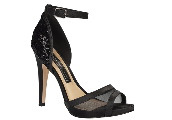 Ammer Black High Heels Sandal  T1703
