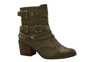 BOOT RATO OLIVE - DPARZ