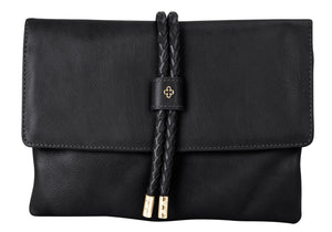Fold Over Clutch Leather - DPARZ