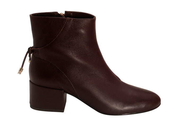 Napa Chocolate Ankle Bootie