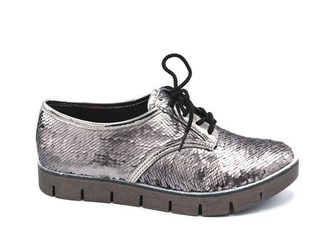 GREY METALLIC T0814