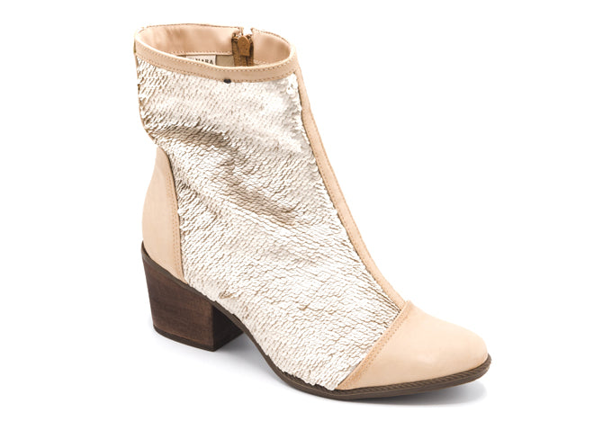 Ory Nude Ankle Booties T0948