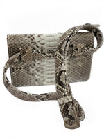 Natural Python Fanny Pack | Exotic Leather Skin bags