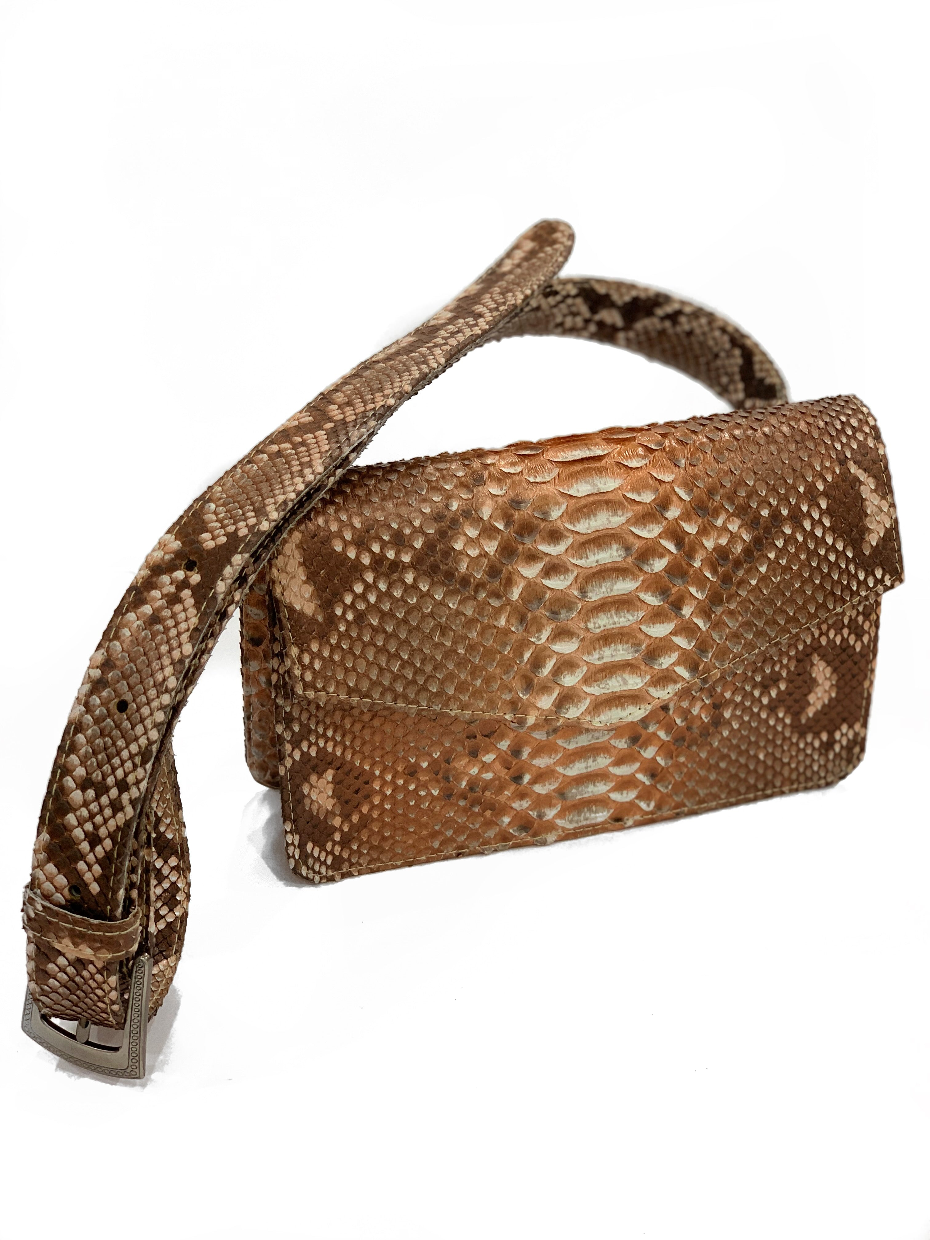 Felicia Gold Fanny Pack