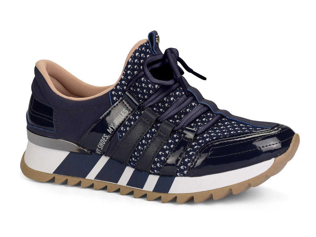 Black and Navy Sneaker| Women Sneakers