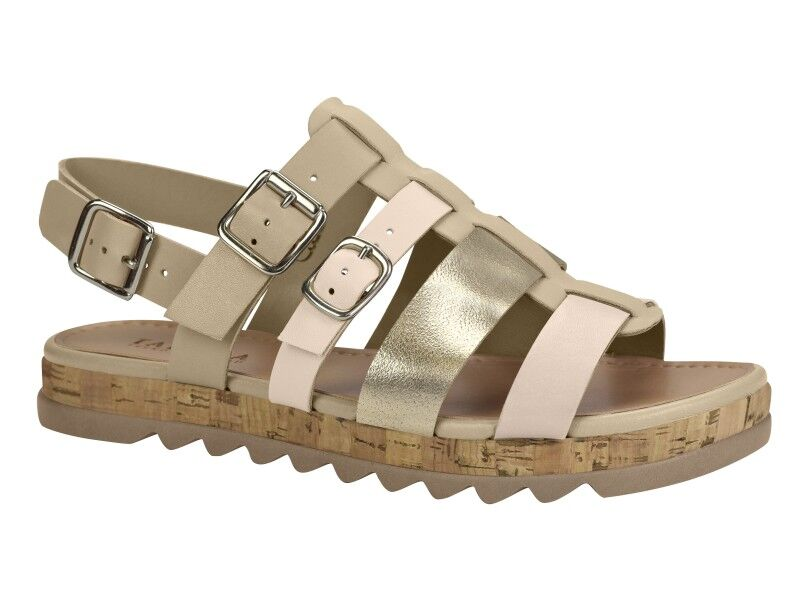 Bella Neutral Strap Sandal