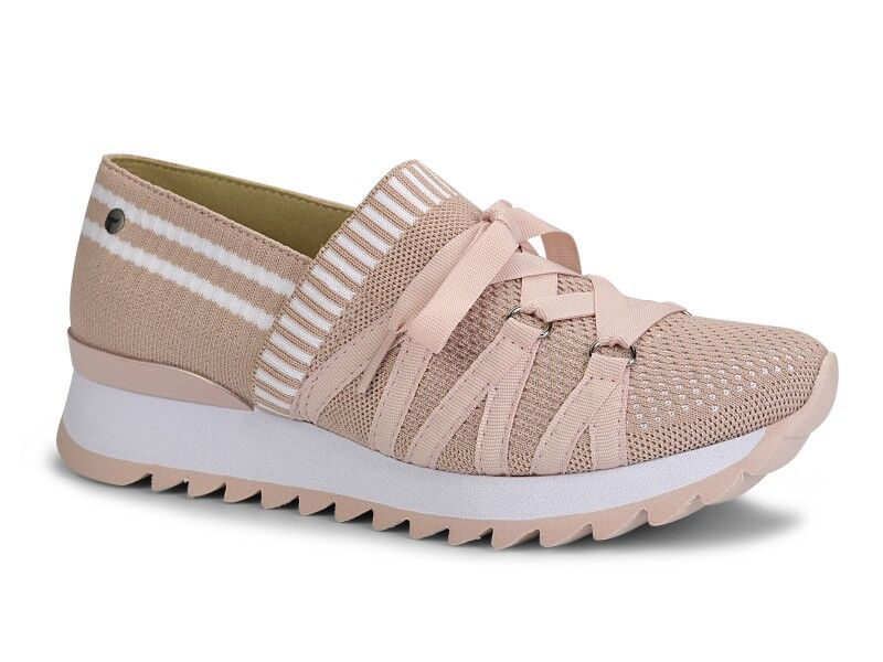 Blush And White Sneaker I Women's Shoes