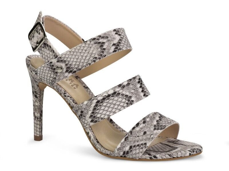 High Heel Strappy Snake Sandal | Women's High Heel Shoes