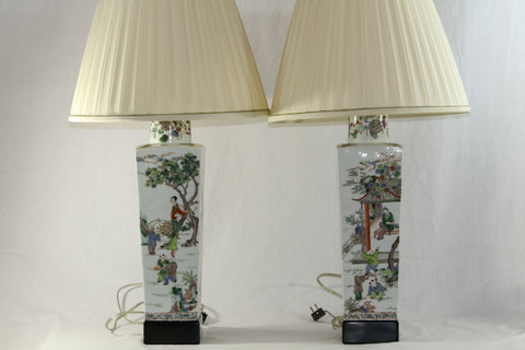 china Lamps Chinese export vases