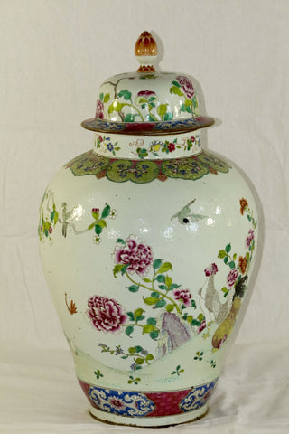 China Urns Porcelain Urns, Pair