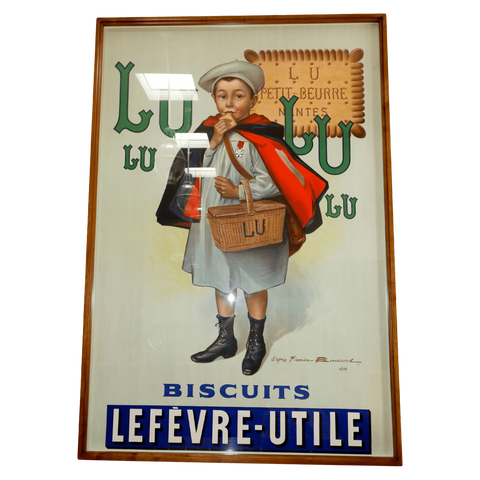 France Posters Antique Lulu Poster, France