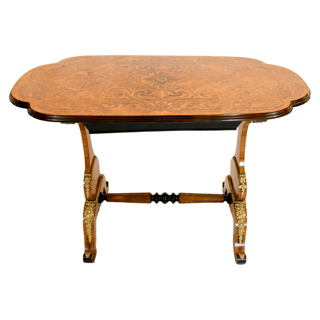 France Tables Marquetry Tea Table ...