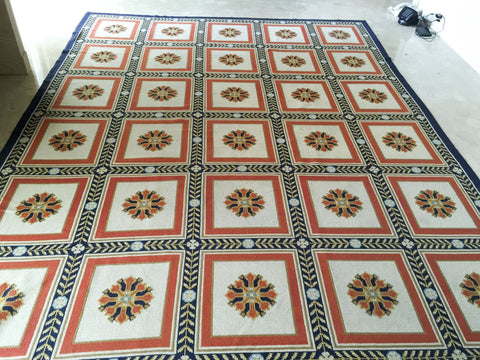 Portuguese Rugs and Carpets Arrialos Neoclassical Rug
