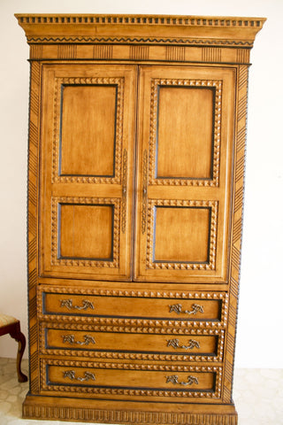 The Antique Shop Armoire Gothic Revival Oak Armoire