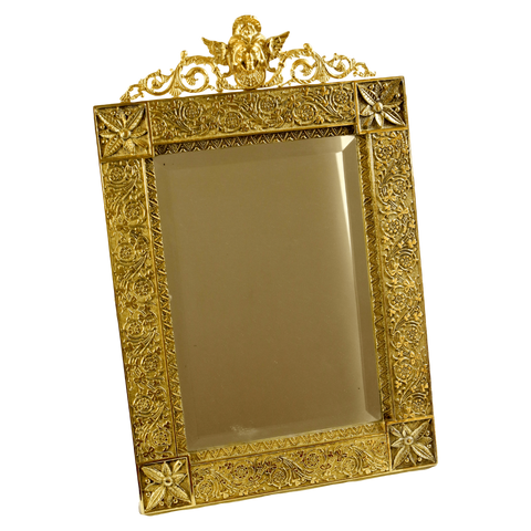 The Antique Shop Mirrors Gilded Mirror