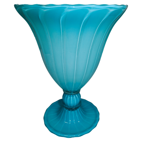 The Antique Shop Vases Blue Glass Vase