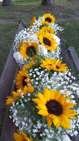 Bridesmaids Sunflower Bouquet