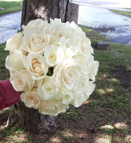 Bundle of Roses Bridal Bouquet