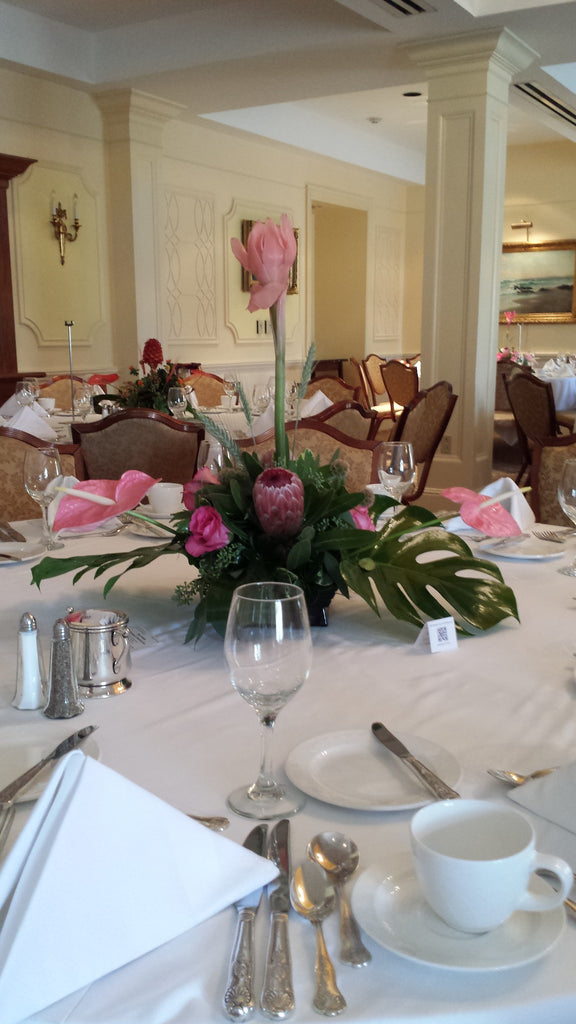 Pink Exotic Centerpiece