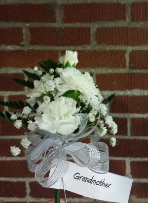Mini Carnation Shoulder Corsage
