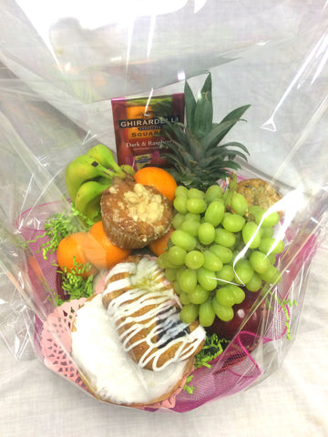 Fruit & Pastry Gift Basket