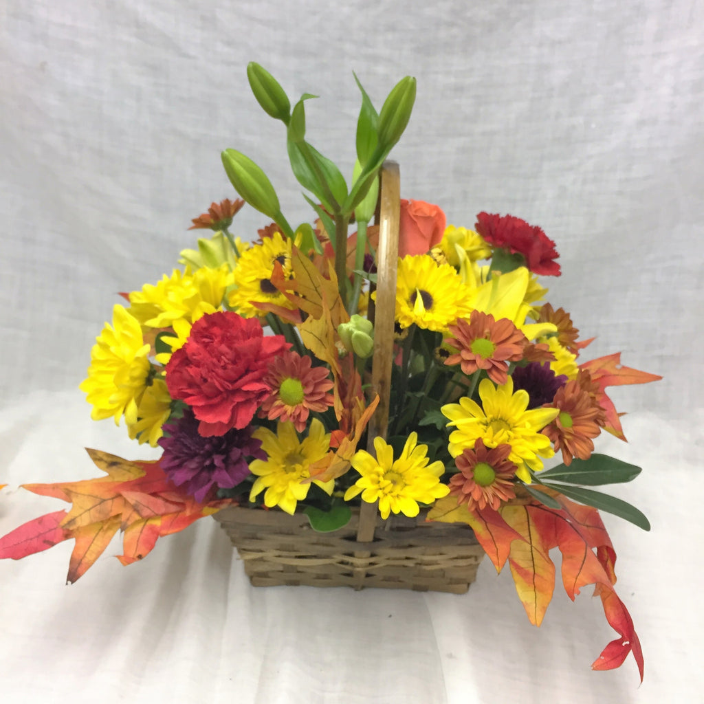 fall basket/ center piece