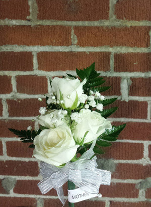 Sweetheart Rose Shoulder Corsage