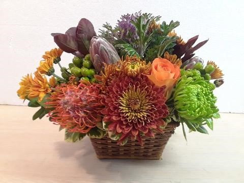 small fun fall basket