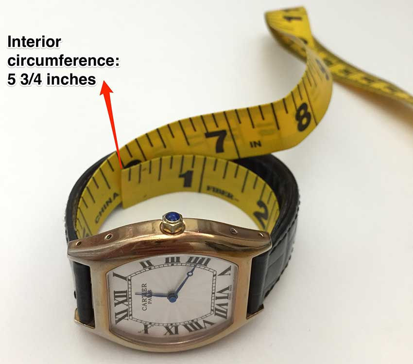 Measuring interior circumference
