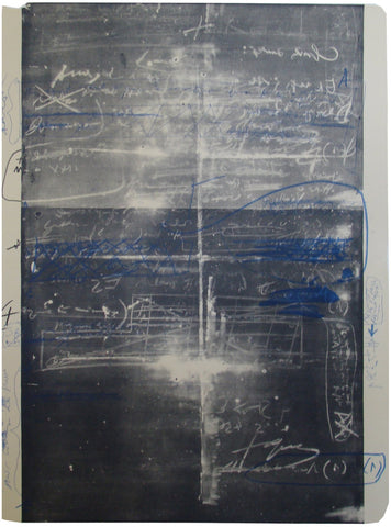 "Antoni Tapies (Spanish, 1923-2012), ""Oeuvre Grave"", 1974, color lithograph, signed, annotated"