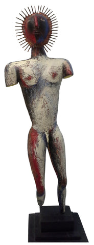 "Eugene Jardin (German/South African, 1947-1992), ""Cerebral Warrior"", 1989, epoxy resin, signed and dated"