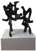 "Bill Barrett (American, b. 1934), ""Bilando"", 1965, bronze, signed"