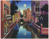 "Jim Buckels (American, contemporary), ""Sans Souci"", screenprint, signed, ed. 225"