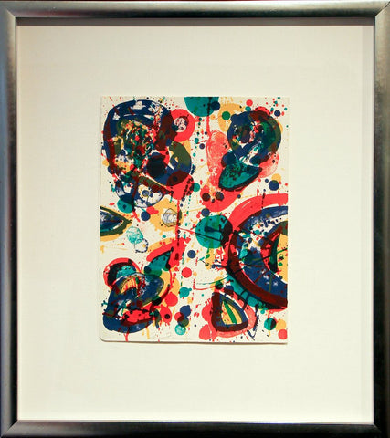 "Sam Francis (American, 1923-1995), ""Firework"", 1963, lithograph in colors, signed, ed. 40"