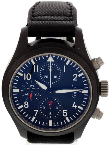 Men's IWC Pilot's Watch Ceramic Watch, ref. WUQ1W6