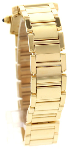 Ladies Cartier 18K Yellow Gold Tank Francaise, ref. 2385