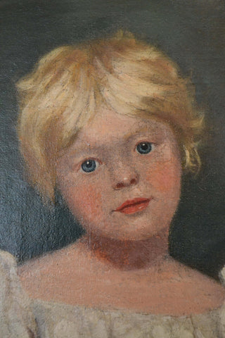 British School (19th Century), Portrait of a Young Girl, in the style of Sir Thomas Lawrence, oil on canvas
